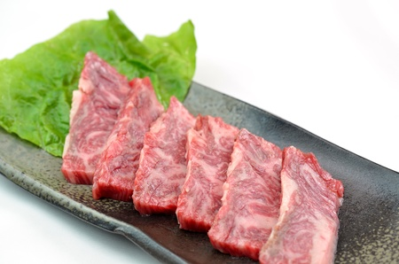 Yakiniku, Japanese beef Stock Photo - 15590051