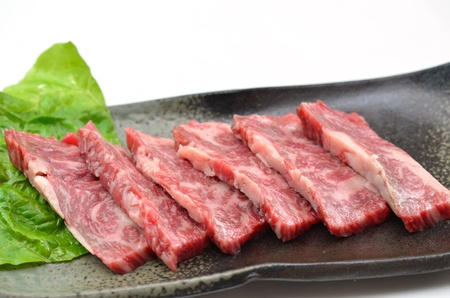 Yakiniku, Japanese beef Stock Photo - 15590053