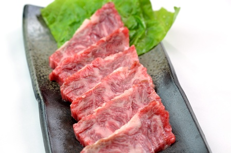 Yakiniku, Japanese beef Stock Photo - 15590052