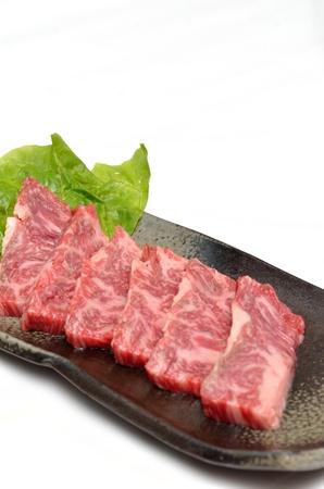 Yakiniku, Japanese beef Stock Photo - 15592964
