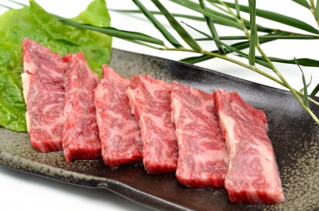 Yakiniku, Japanese beef  Stock Photo - 15592985