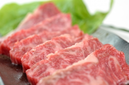 Yakiniku, Japanese beef Stock Photo - 15592966
