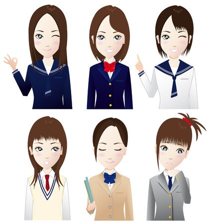 high school student Stock Vector - 15681241