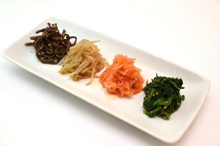 korea food: namul