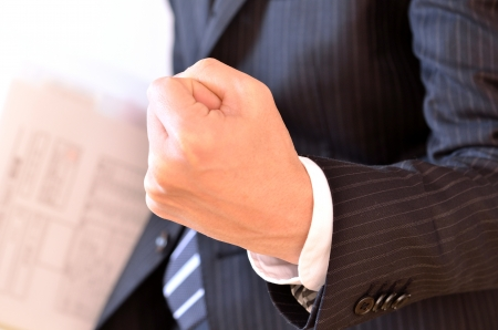 salaried: businessman Stock Photo