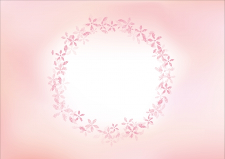 background of cherry blossom Stock Vector - 17976113