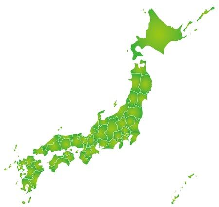 日本の地図 写真素材 - 22159876