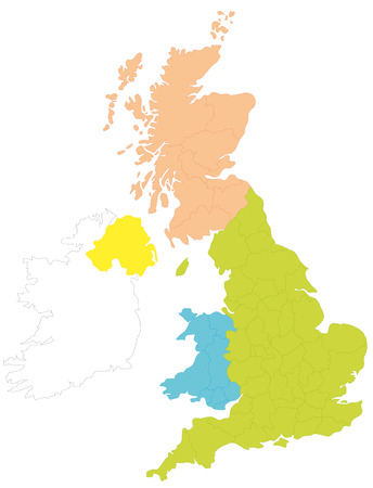 A map of Britain