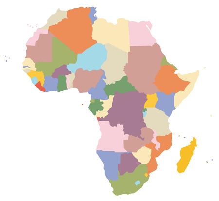 torrid: A map of Africa
