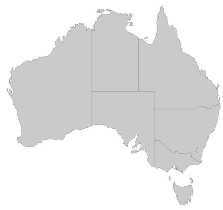 map of australia: A map of Australia