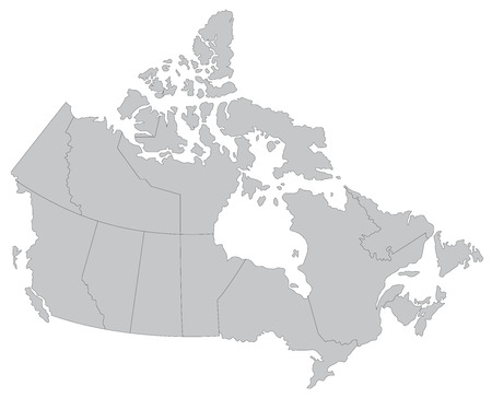 canada: Map of Canada