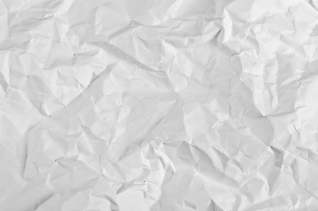 feuille froiss�e: feuille froiss� du fond de papier de bureau avec riches d�tails Banque d'images