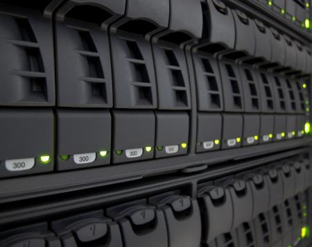 rechenzentrum: modernen Corporate Information Storage System in neues Rechenzentrum