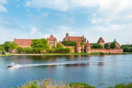 teutonic: Teutonic Castle in Malbork (Marienburg) in Pomerania, Poland, Europe.