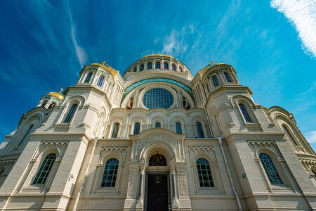 The Naval cathedral of Saint Nicholas in Kronstadt is a Russian Orthodox cathedral built in 1903–1913 as the main church of the Russian Navy and dedicated to all fallen seamen.