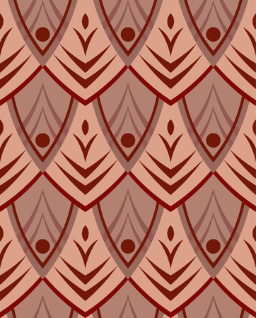 Abstract seamless structure from ornament Vector