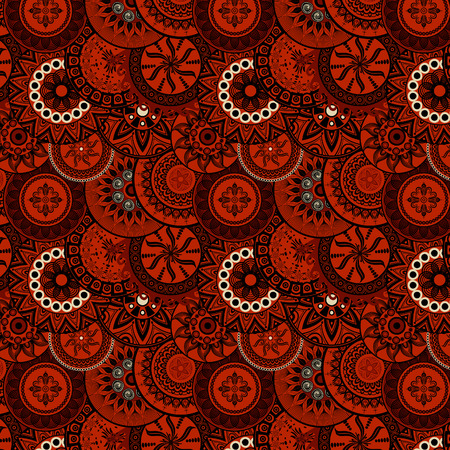 persia: seamless pattern red&black Illustration