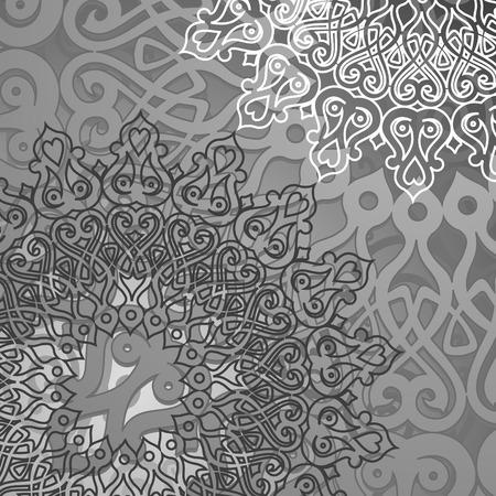 paisley pattern: arrière-plan gris Inde