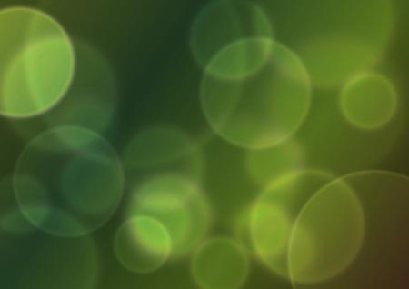 green bokeh abstract light background. Vector illustration Stock Vector - 8077042