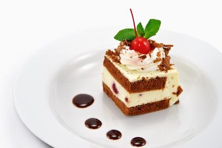 cake and chocolate Stock Photo