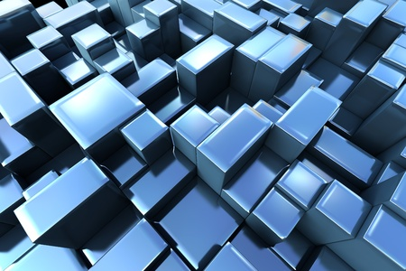 3d abstract graphic background Stock Photo