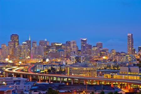 area: San Francisco downtown Stock Photo
