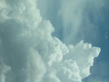 Towering Clouds Stock fotó