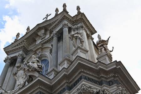sacral: Sacral section of square San Carlo in Torino