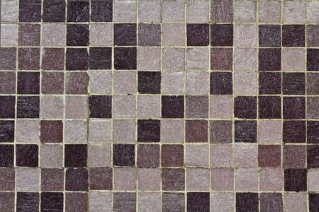 A purple mosaic on a wall in a public underground station in Vienna Stock Photo - 10846467