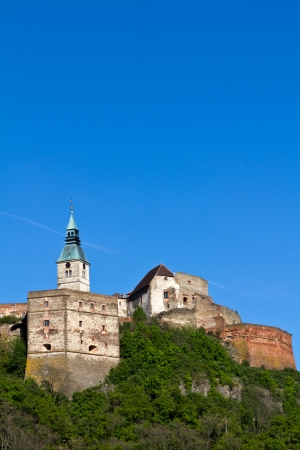 guessing: Old castle Guessing in Burgenland, Austria, on a sunny day Stock Photo