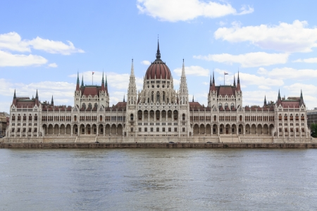 parliamentarian: The hungarian parliament in Budapest, Hungary