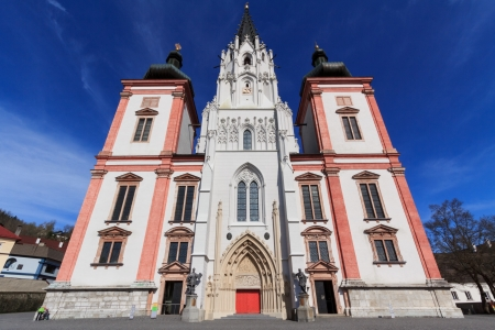 The famous destination for catholic pilgrims: church of Mariazell Imagens