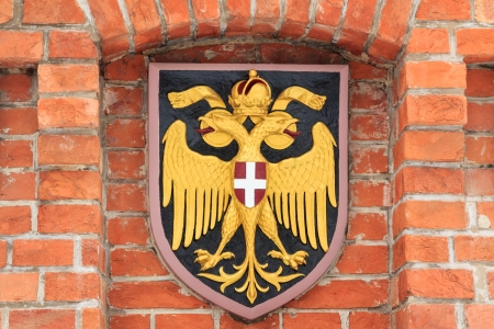 double headed eagle: Austrian empire coat of arms: the double headed eagle