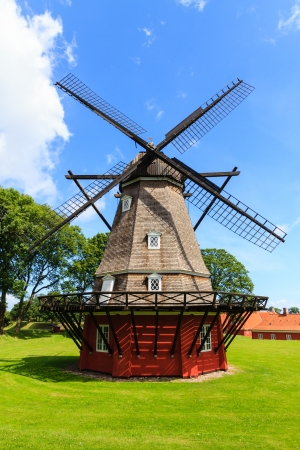 The mill in the kastellet in Copenhagen, Denmark photo