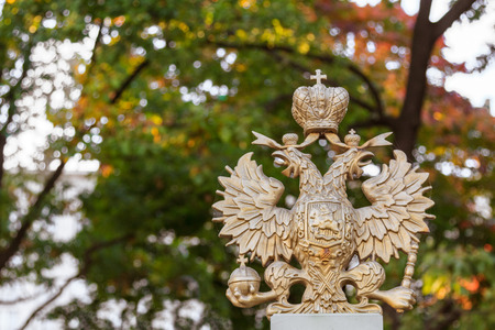 double headed eagle: The russian national symbol, a double headed eagle