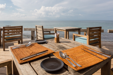 A restaurant with a sea view on Phu Qoc island, Vietnam