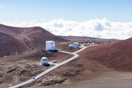 Part of the Observatory on Mauna Kea, Hawaii, USA