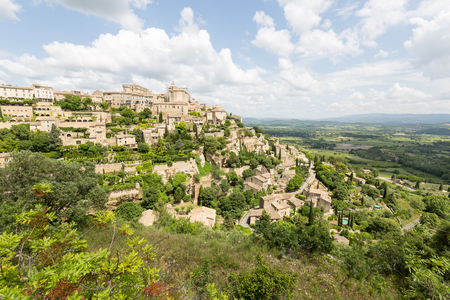Medieval village Gordes in Provence, France