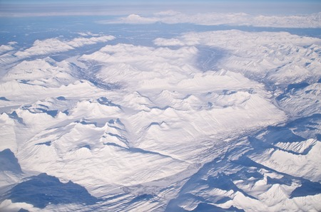 Mountains Of Ice And Snow In Alaska