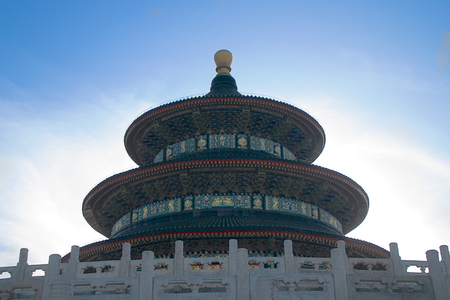 harvests: The Hall Of Prayer For Good Harvests Within The Temple Of Heaven In Beijing, China