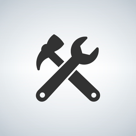 wrench hummer icon illustration
