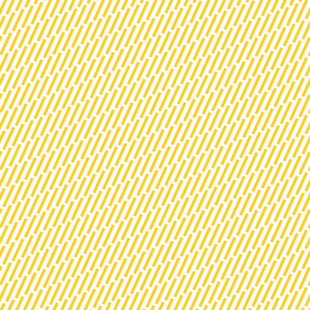 Yellow Diagonal strokes pattern. Dashes motif. Hatches background. Dashed wallpaper. Linear backdrop. Digital paper, web design