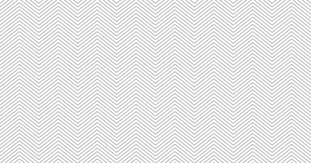 Zigzag strutturato bianco 16:9 sfondo bianco design. Modello senza cuciture semplice chevron. Modello per stampe, carta da regalo, tessuti, copertine, volantini, striscioni, poster, presentazioni di diapositive