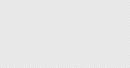 Zigzag textured white 16:9 white background design. Simple chevron seamless pattern. Template for prints, wrapping paper, fabrics, covers, flyers, banners posters slides presentations