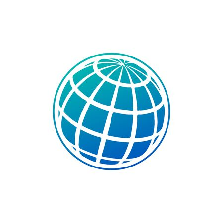 Globe Icon. World globe symbol for your web site design, app, UI. Vector illustration isolated on white 写真素材 - 128218336