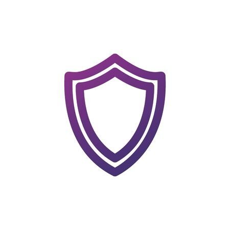 Sequrity Shield Icon. Shield symbol for your web site design, logo, app, UI. Stock Vector illustration isolated