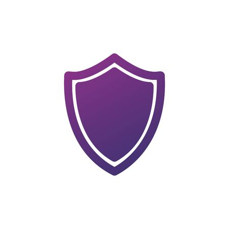 Blank Sequrity Shield Icon. Shield symbol for your web site design, logo, app, UI. Stock Vector illustration isolated Illusztráció
