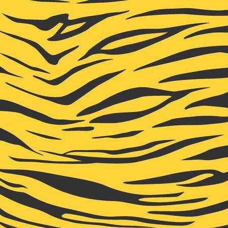 Animal print, zebra skin texture, animal background, tribal ornament, Vector illustration isolated