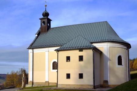 체코 공화국에서 Malenisko에 교회 리터 - 순례의 장소
