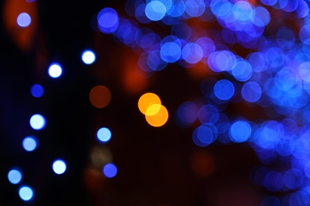 Abstract background - blurry colorful lights. Photo photo